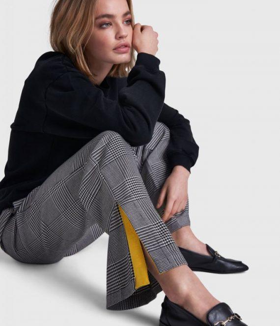 Check pants | Alix the label