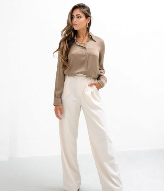 Jade wide leg pants | Amaya Amsterdam
