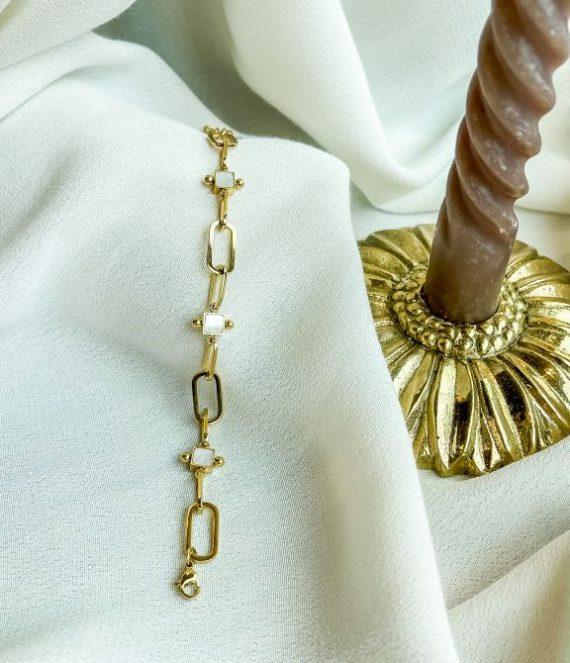 Bracelet chain shell | ZAG Bijoux