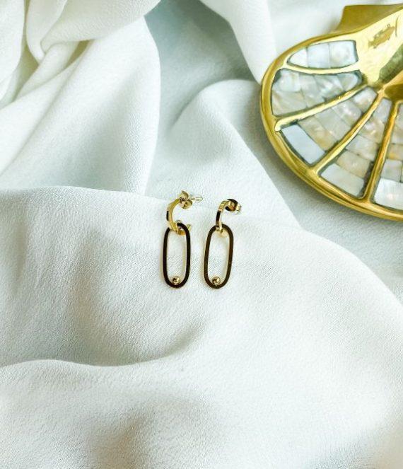 Earrings oval | ZAG Bijoux