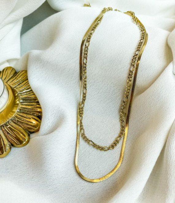 Necklace snake chain | ZAG Bijoux