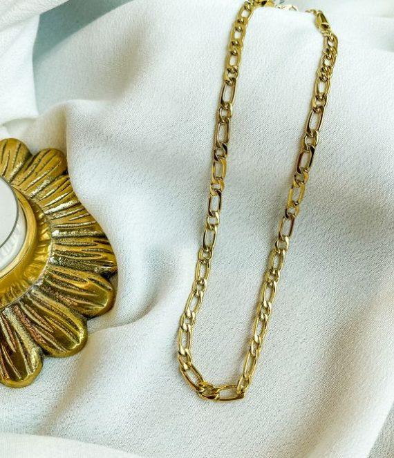 Necklace flat chain | ZAG Bijoux