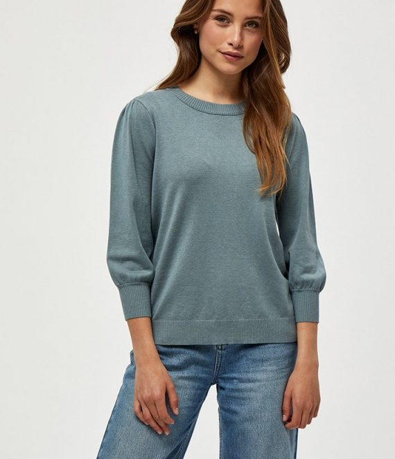 Mersin knit pullover blue | Minus