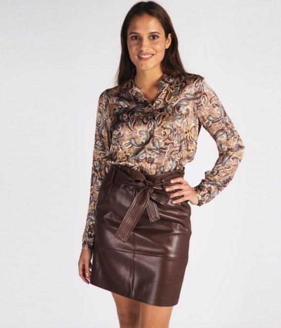Skirt belt pu | Esqualo