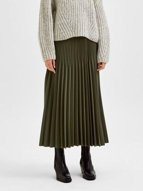 Alexandra plisse skirt | Selected Femme