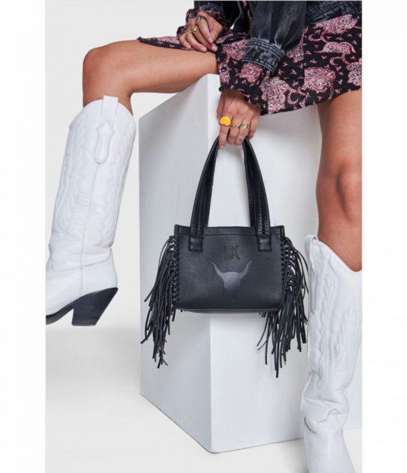 Faux leather lx shoulder bag | Alix the label