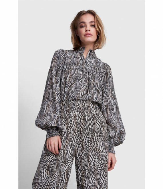 Dots animal blouse | Alix the label