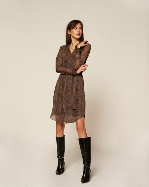 Amina jurk zwart   Freebird
