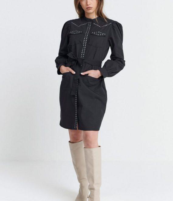 Belle dress black | Spooq the label