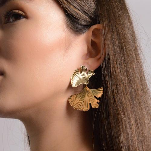 Lena Earrings Gold | Margot Bardot