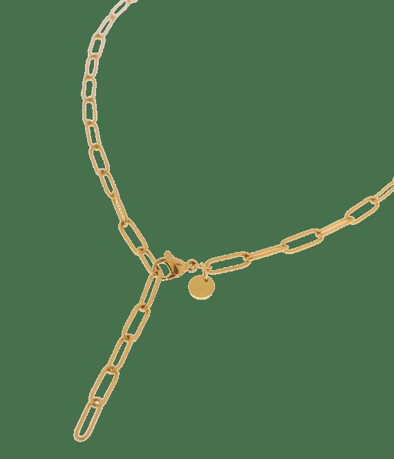 Hold on necklace gold | Label Kiki