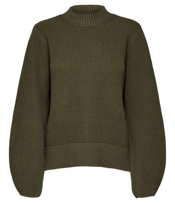 Leslie knit o-neck | Selected Femme
