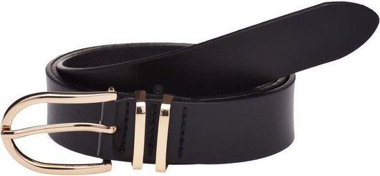 Belt plain gold 30495 | Elvy Fashion