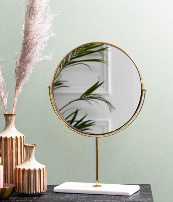 Spiegel Riesco wit S | Light & Living