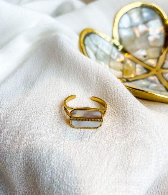 Nikov ring gold | Zag Bijoux