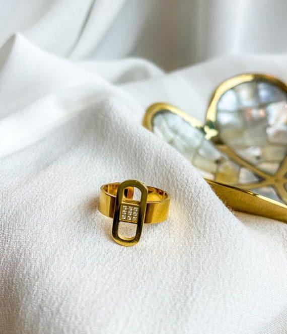 Baleria ring gold | Zag Bijoux