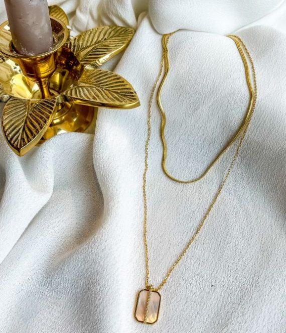 Nikov necklace gold | Zag Bijoux