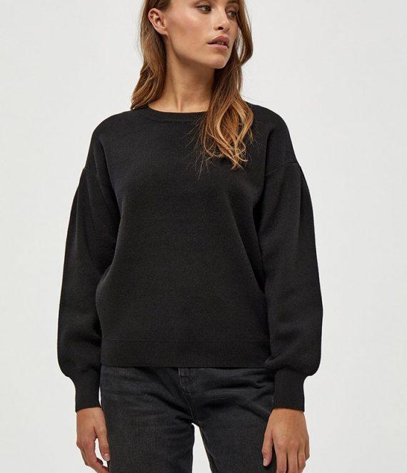 Lupi knit pullover black | Minus