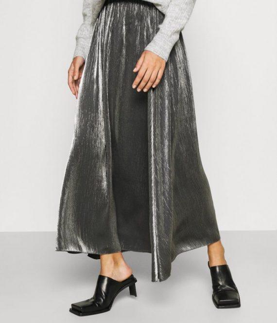 SLFelke zilveren rok | Selected Femme